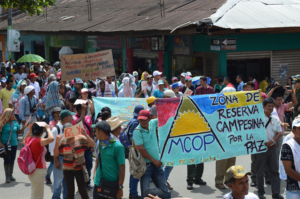 March for Peace in Caquetá
