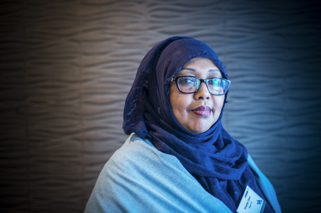 Khadija Omar strives for both sustainability and job opportunities for women.