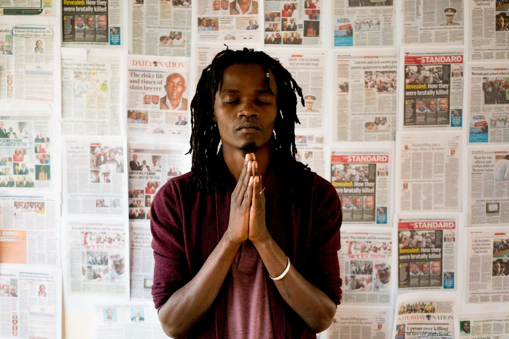 Juliani, a prominent Kenyan musical activist