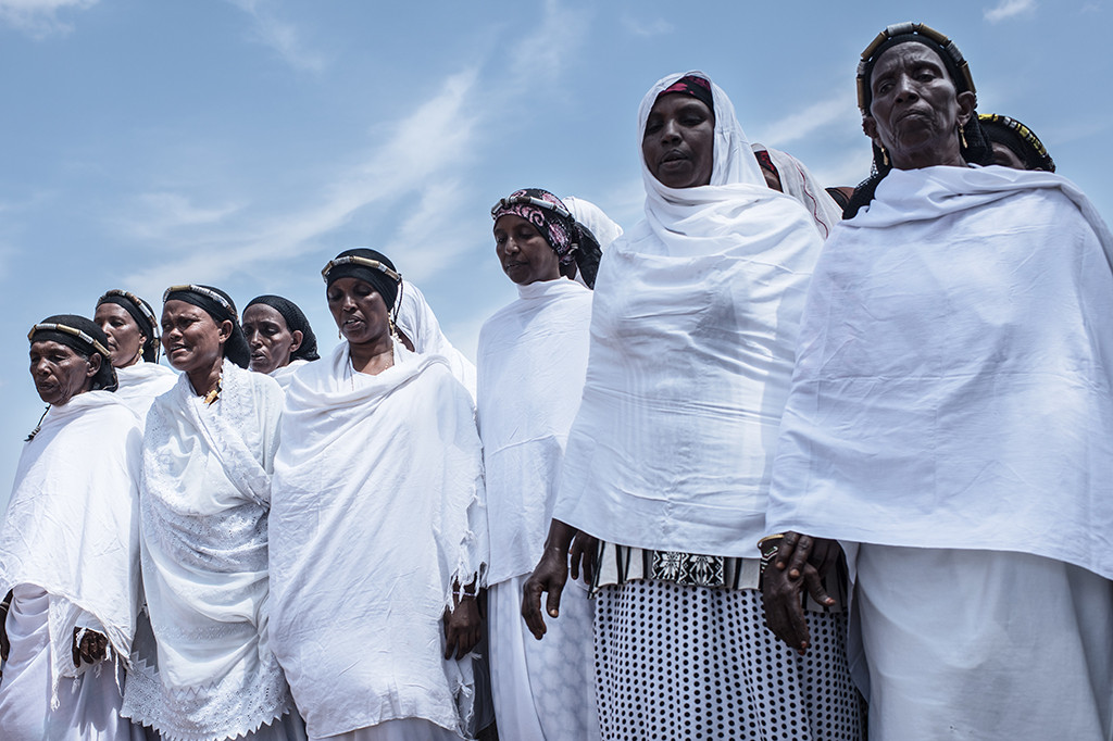 Membrs of Kinisa Women's group in Moyale