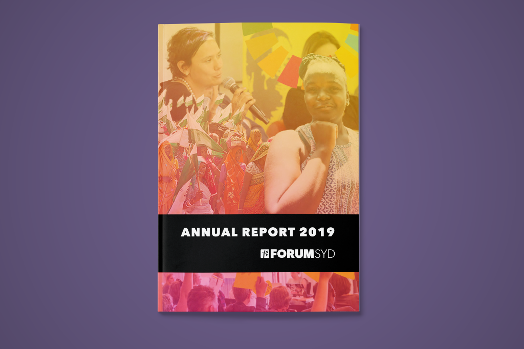 Cover page of Forum Syds Annual Report 2019