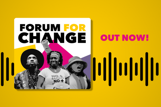 Forum for Change banner