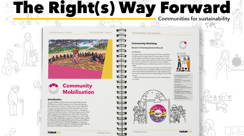 Right(s) Way Forward book