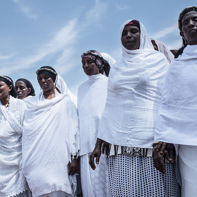 Members of Kinisa Women's group in Moyale. Photo: Fredrik Lerneryd
