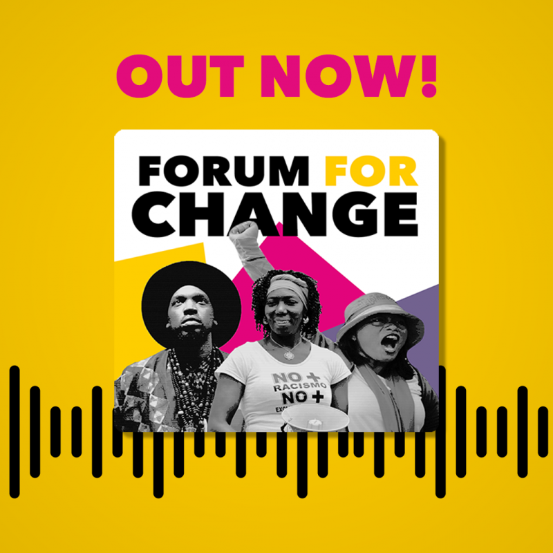 Forum for change - podcast promo picture